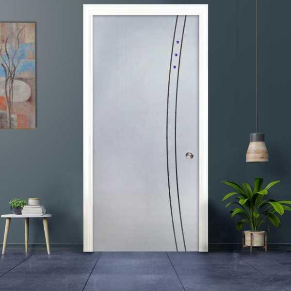 Pocket Glass Barn Door (Model PSGD-0011 Semi-Private)