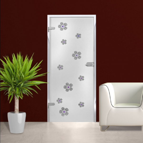 Hinged Glass Door (Model HGD-H+H-0008 Full-Private)