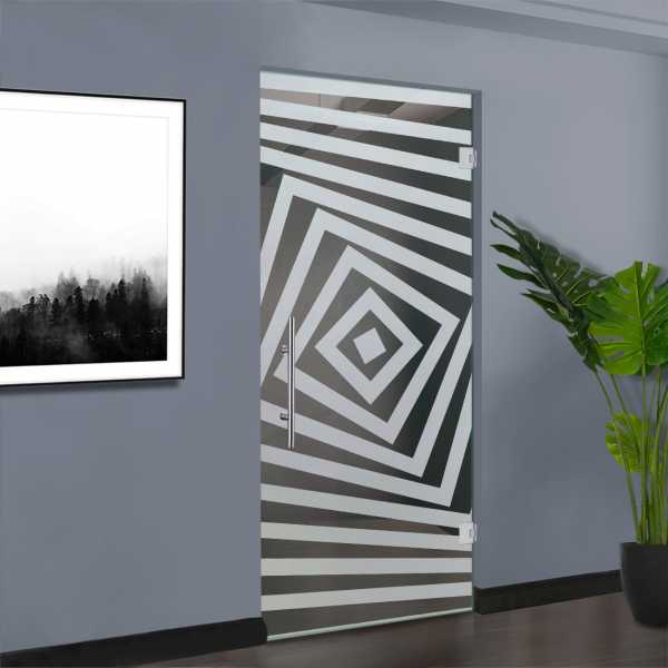 Pivot Glass Door SD-0006