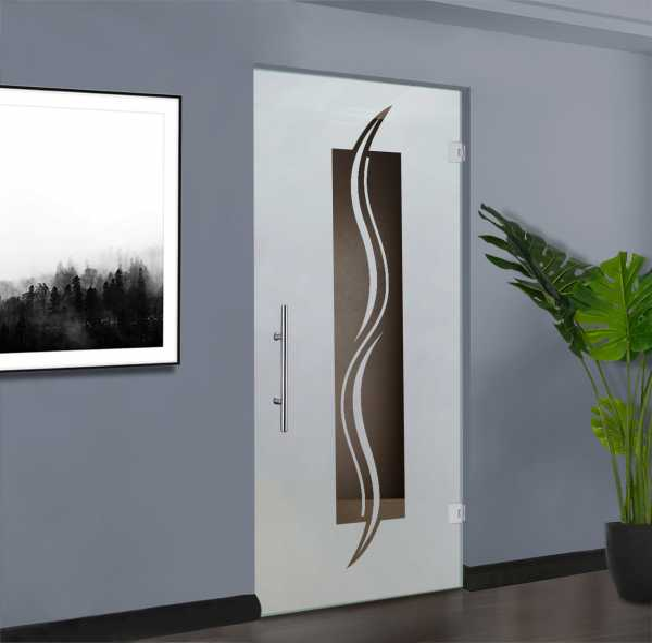 Swing Glass Door (Model SD-0090 Semi-Private)