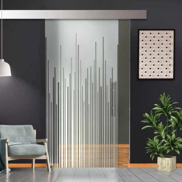Sliding Glass Barn Door SGD-ALU100-0013