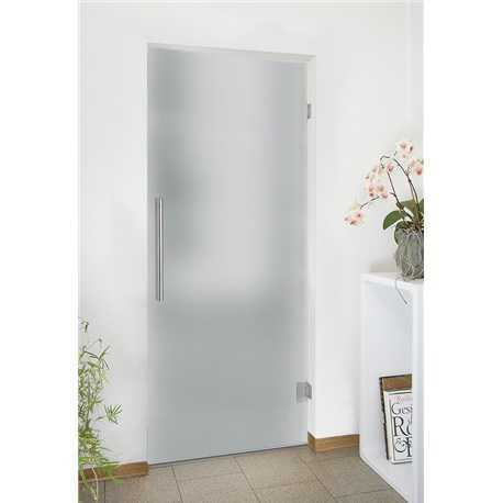 """Pivot Glass Door, 36""""x82"""", Opening Direction: Right, Glass Thickness: 5/16"""", Opaque"""