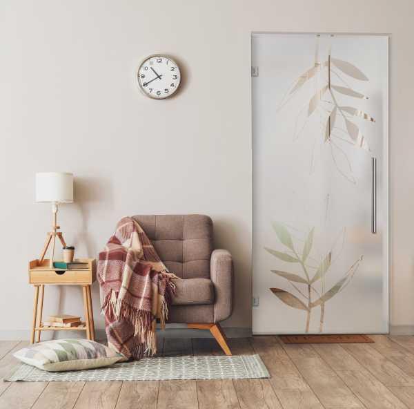 Swing Glass Door (Model SD-0058 Semi-Private)