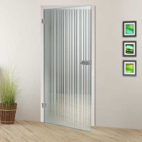 Hinged Glass Door HGD-H+H-0090