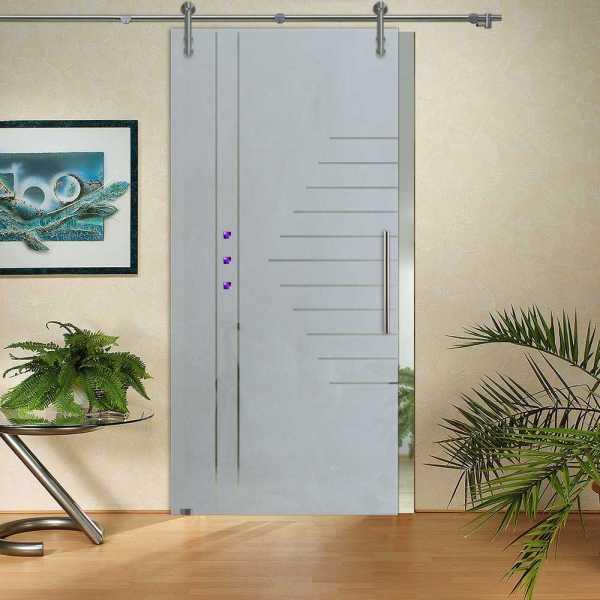 Sliding Glass Barn Door SGD-V1000-0125