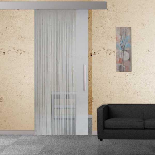 Sliding Glass Barn Door SGD-ALU100-0001