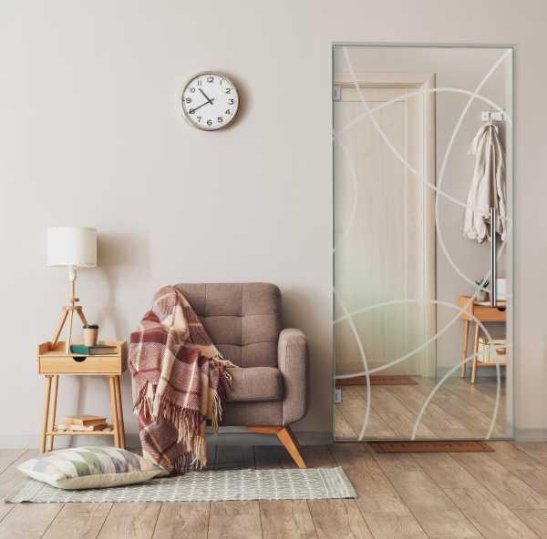Pivot Glass Door SD-0100