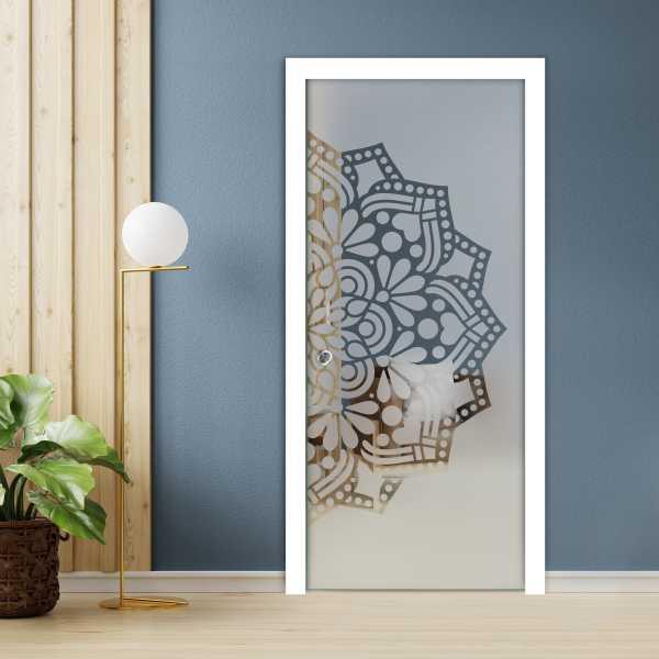 Pocket Glass Barn Door (Model PSGD-0103 Semi-Private)