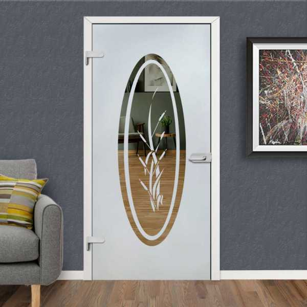 Hinged Glass Door HGD-H+H-0036 (Semi-private)