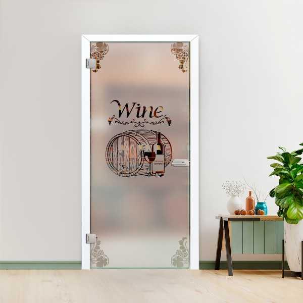 Hinged Glass Door CHGD-H+H-0001
