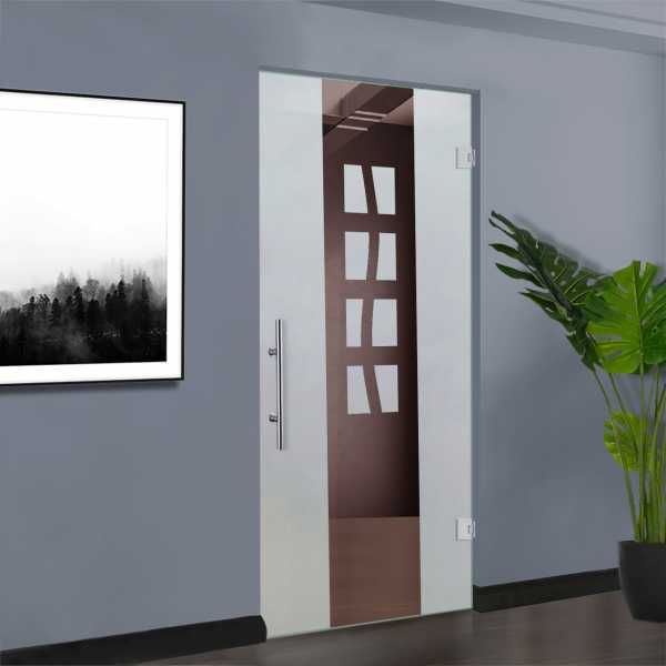 Pivot Glass Door (Model SD-0069 Semi-Private)