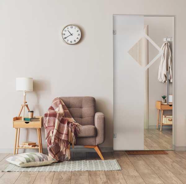 Pivot Glass Door SD-0037