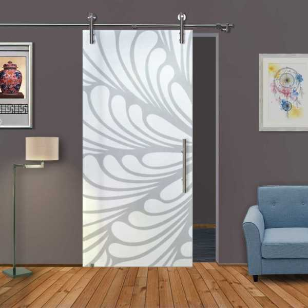 Sliding Glass Barn Door SGD-V1000-0166