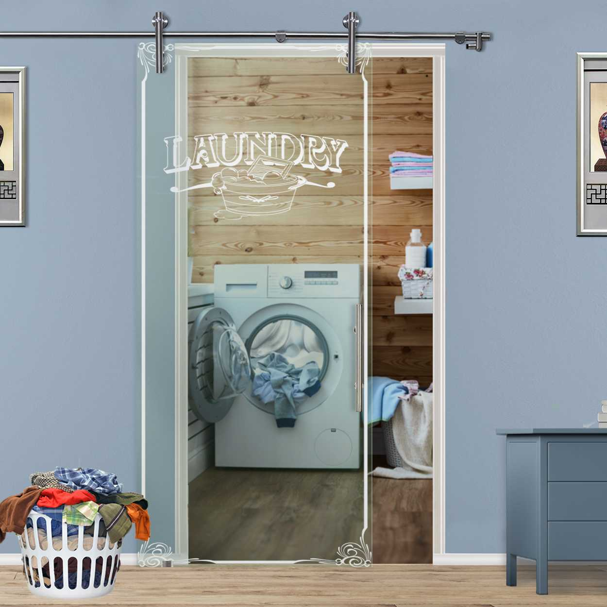 Sliding Glass Barn Door With Frosted Pantry Design Glass Door Us Innovation Perfection Made Of Glass
