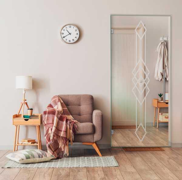 Pivot Glass Door SD-0111