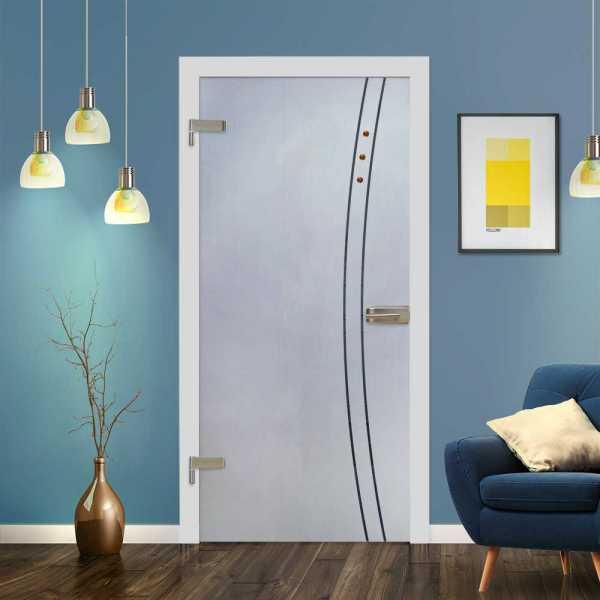 Hinged Glass Door (Model HGD-H+H-0059 Semi-Private)
