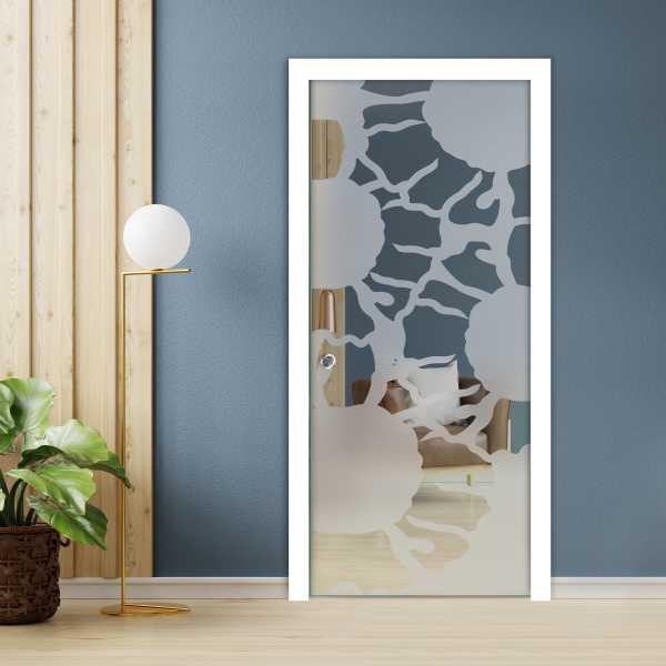 Pocket Glass Barn Door (Model PSGD-0045 Semi-Private)