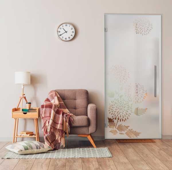 Swing Glass Door (Model SD-0041 Semi-Private)