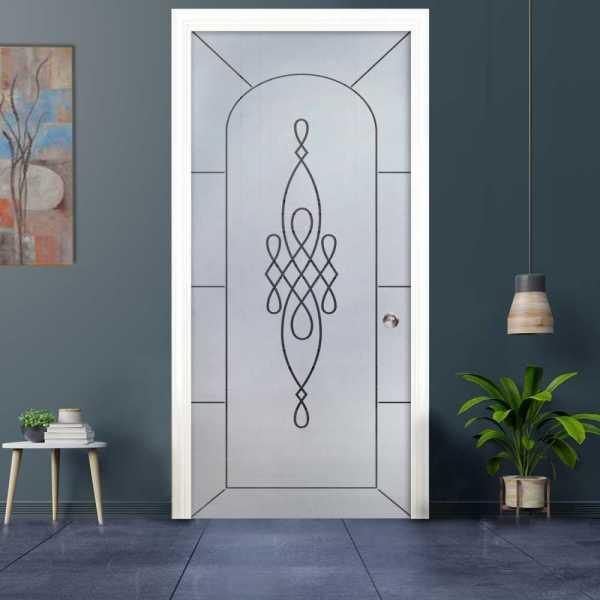 Pocket Glass Barn Door (Model PSGD-0026 Semi-Private)