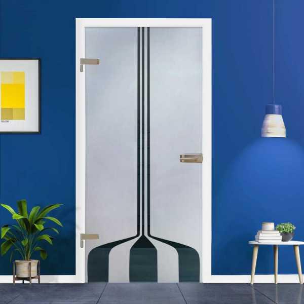 Hinged Glass Door (Model HGD-H+H-0081 Semi-Private)