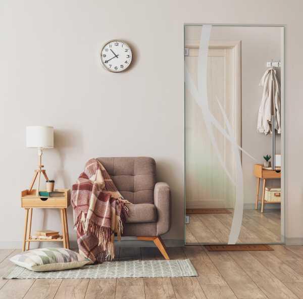 Swing Glass Door (Model SD-0064 Semi-Private)