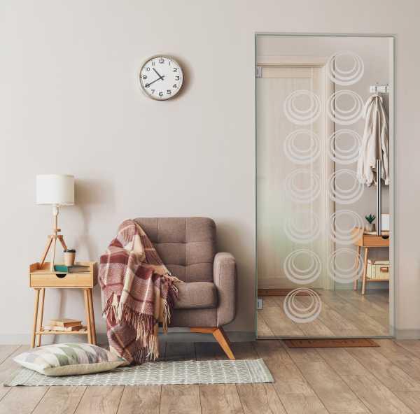 Pivot Glass Door SD-0074