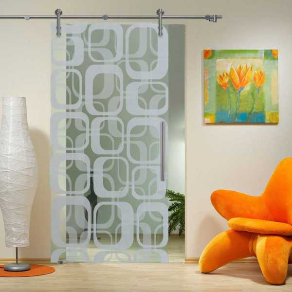 Sliding Glass Barn Door SGD-V1000-0032
