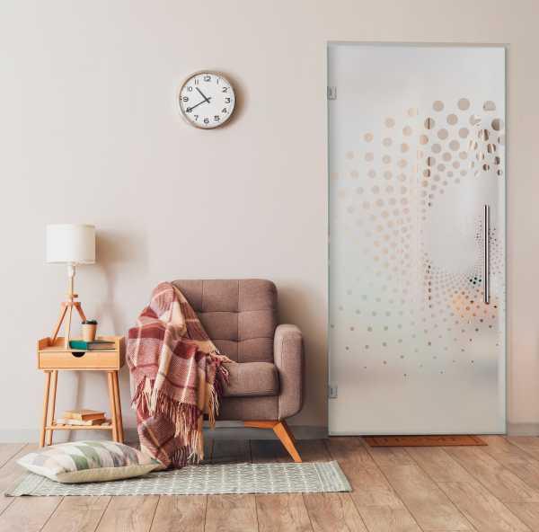 Swing Glass Door (Model SD-0167 Semi-Private)