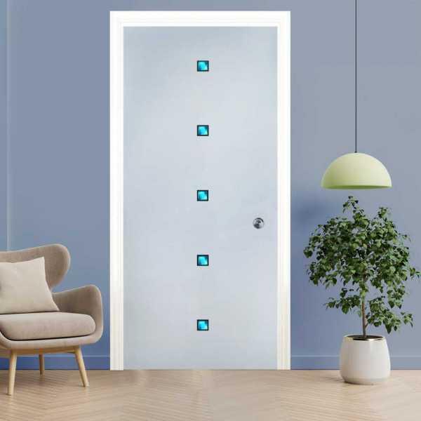 Pocket Glass Barn Door (Model PSGD-0062 Semi-Private)