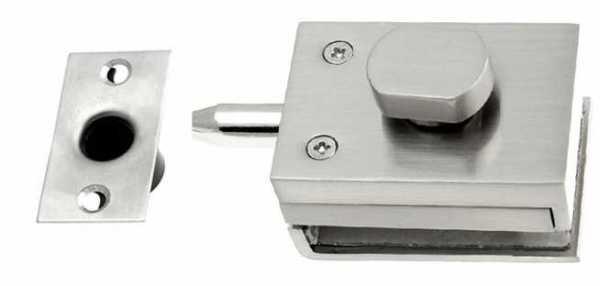 3x Pivot Glass Door Latch Lock