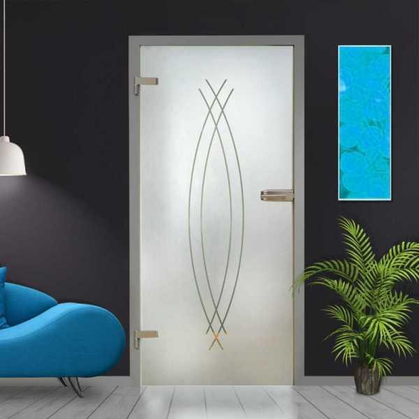 Hinged Glass Door HGD-H+H-0013