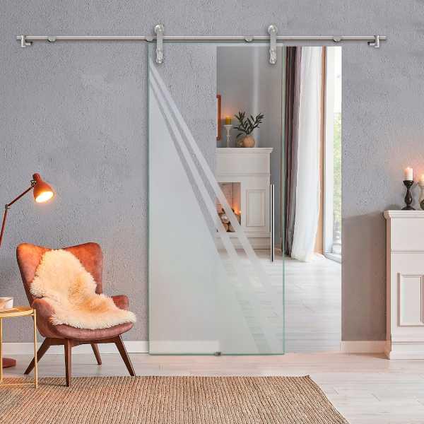 Sliding Glass Barn Door SGD-V1000-0223
