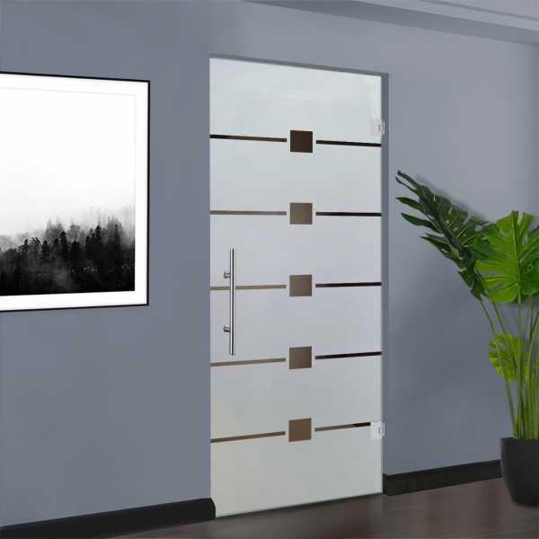 Swing Glass Door (Model SD-0123 Semi-Private)