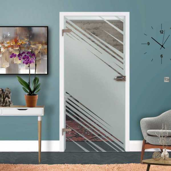 Hinged Glass Door HGD-H+H-0186