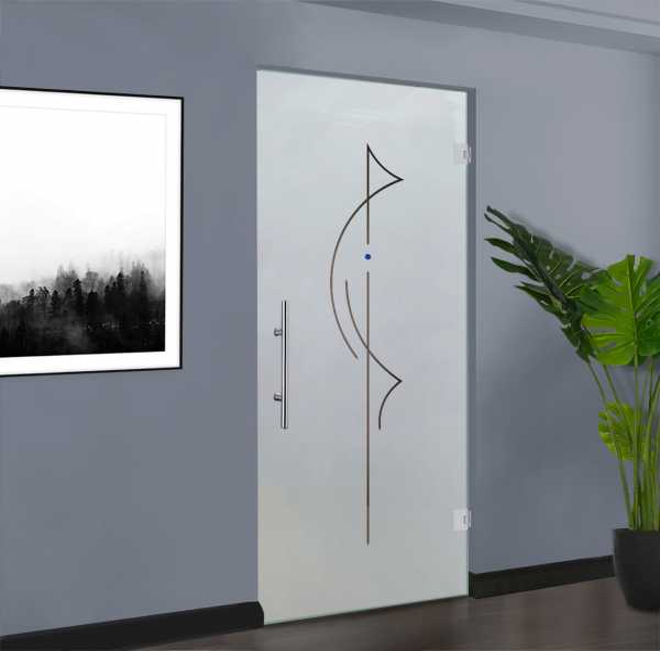 Pivot Glass Door SD-0131