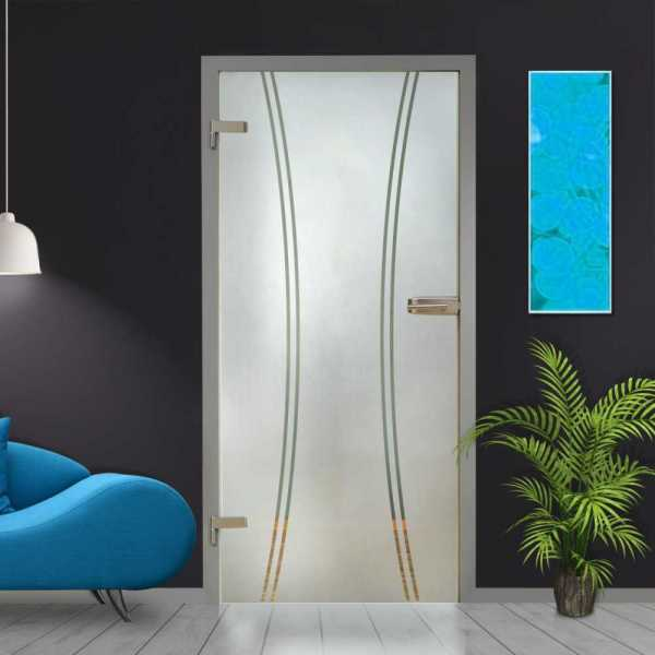 Hinged Glass Door HGD-H+H-0091