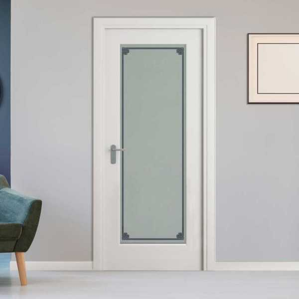 Pantry Room MDF Hinged Doors with Glass Insert CHMDI-00017 (Semi-Private)