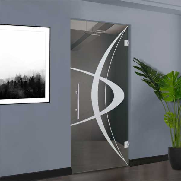 Pivot Glass Door SD-0135