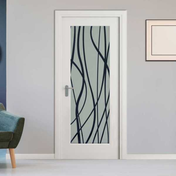 Pantry Room Hinged Doors with Glass Insert CHMDI-00010 (semi-Private)