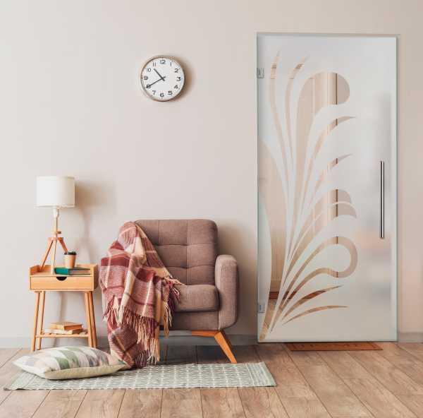 Swing Glass Door (Model SD-0139 Semi-Private)