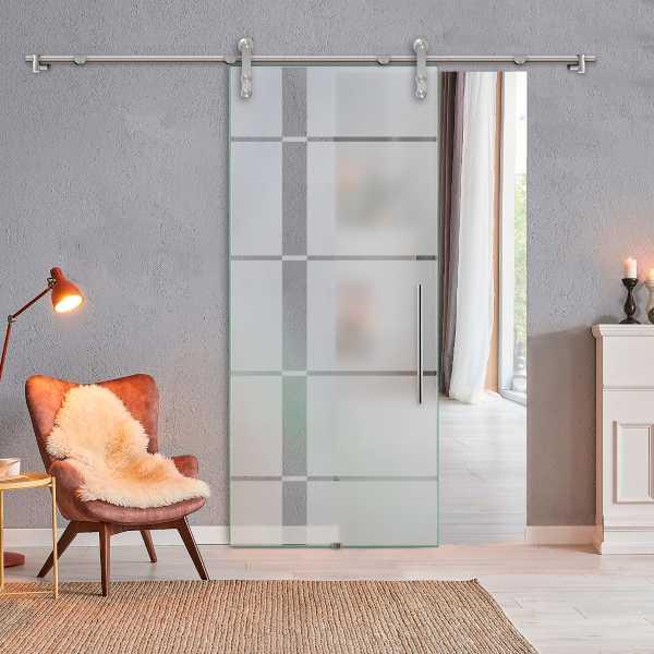 Sliding Glass Barn Door SGD-V1000-0209