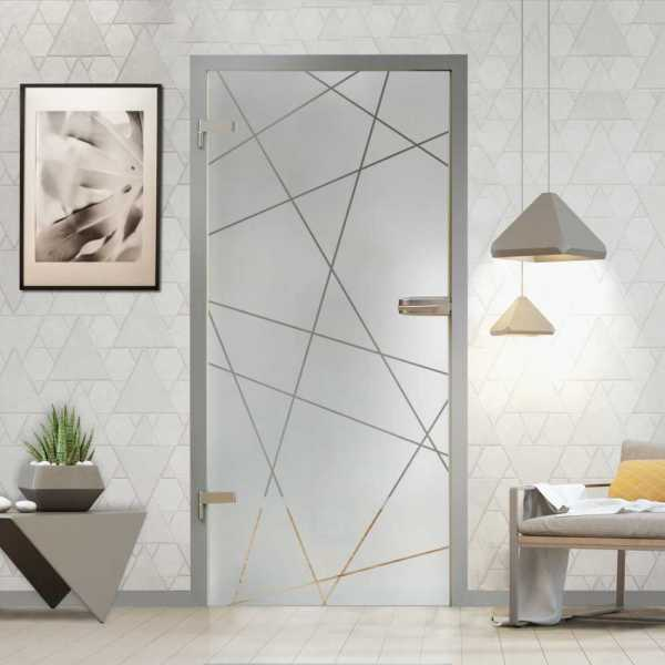 Hinged Glass Door (Model HGD-H+H-0078 Semi-Private)