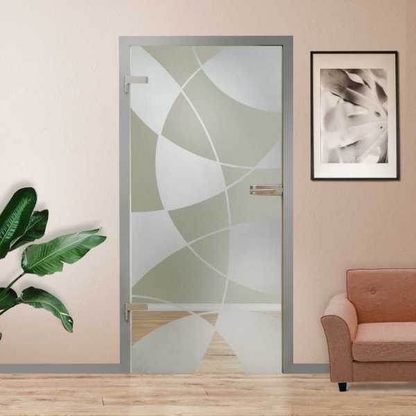 Hinged Glass Door HGD-H+H-0085