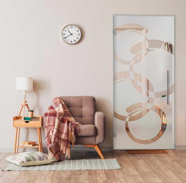 Swing Glass Door (Model SD-0091 Semi-Private)