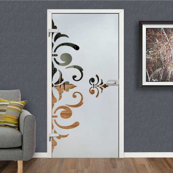 Hinged Glass Door HGD-H+H-0093 (Semi-private)