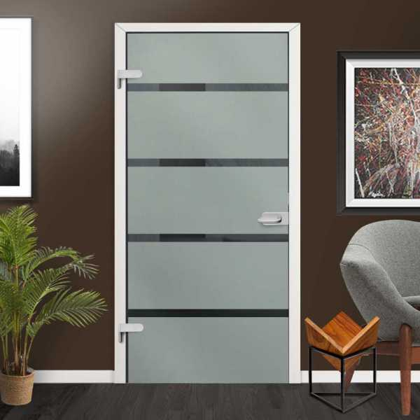Hinged Glass Door HGD-H+H-0003 (semi-private)