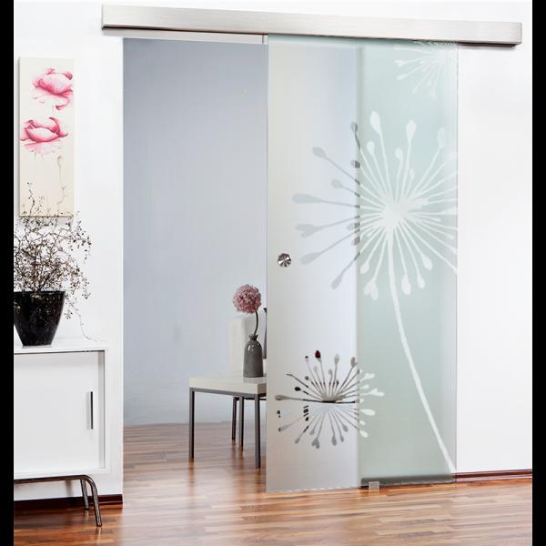 Sliding Glass Barn Door SGD-ALU100-0123