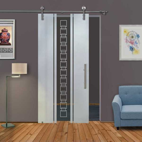 Sliding Glass Barn Door SGD-V1000-0157