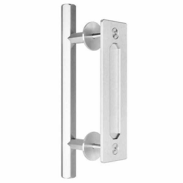 """12"""" Inch Stainless Steel Handle for Wood Sliding Doors"""