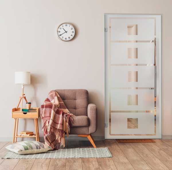 Pivot Glass Door (Model SD-0010 Semi-Private)